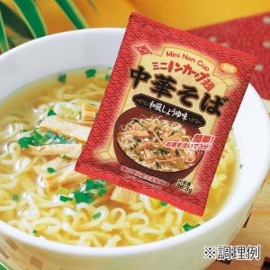 ミニノンカップ麺 中華そば和風しょうゆ味イメージ