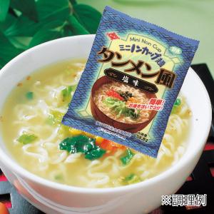 ミニノンカップ麺 タンメン風塩味