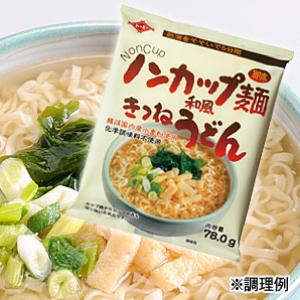 ノンカップ麺 和風きつねうどんイメージ