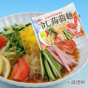 冷し蒟蒻麺 レモン果汁入りしょうゆ味イメージ